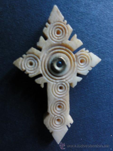 Antigüedades: Suances Cantabria stanhope en cruz de hueso - Foto 2 - 41515824