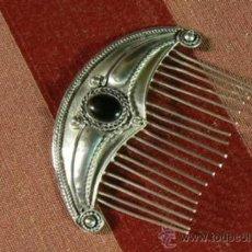 Antigüedades: ANTIGUA PEINETA DE PLATA PUNZON 925. Lote 36942742