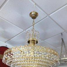 Antigüedades: LAMPARA DE TECHO MODERNISTA. Lote 41519753