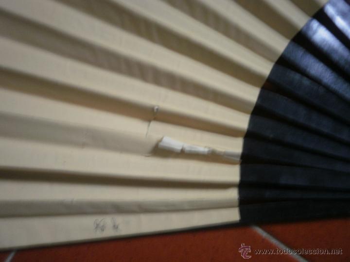 Antigüedades: Abanico pericón pintado - Foto 3 - 41523208
