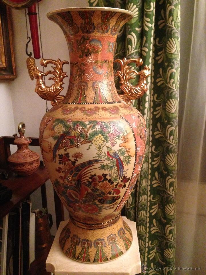 Antigüedades: PRECIOSO JARRÓN CHINO EN PORCELANA - Foto 3 - 41547847