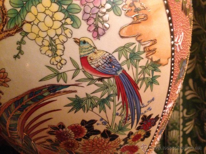 Antigüedades: PRECIOSO JARRÓN CHINO EN PORCELANA - Foto 5 - 41547847