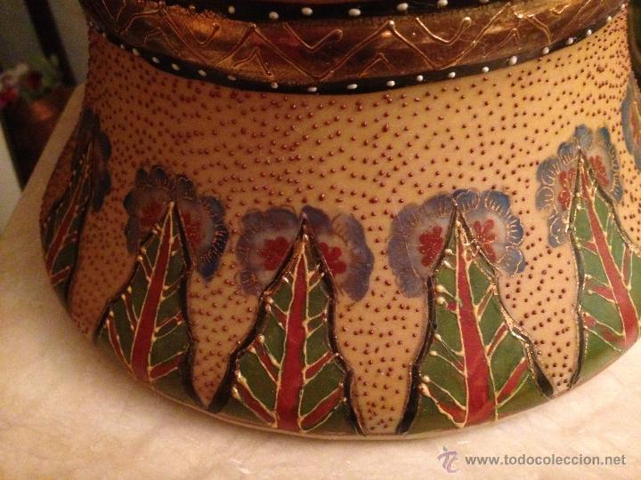 Antigüedades: PRECIOSO JARRÓN CHINO EN PORCELANA - Foto 6 - 41547847