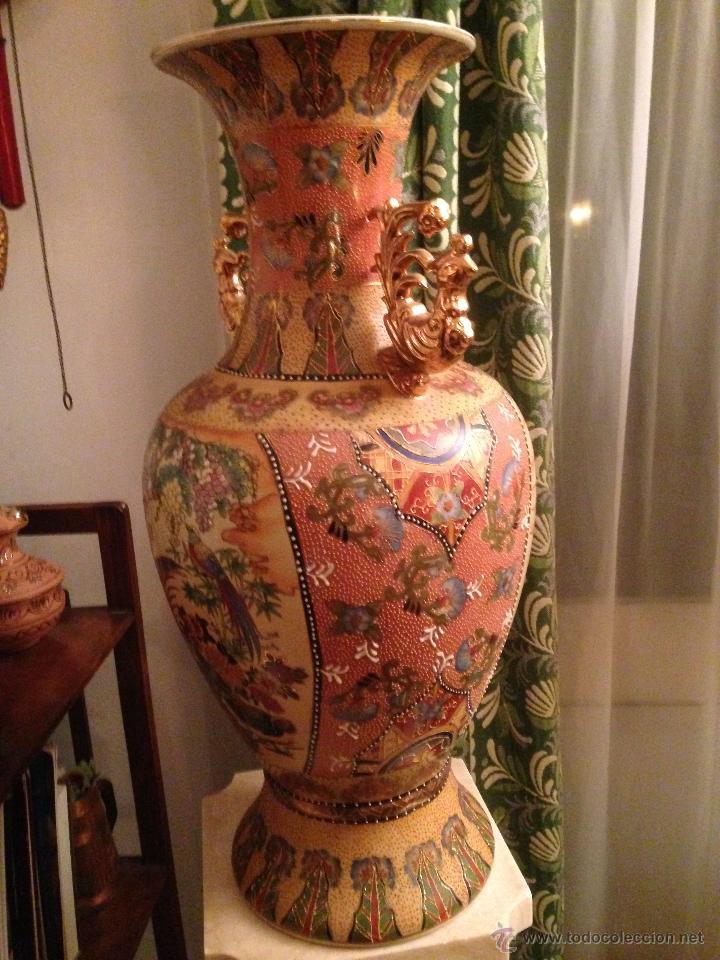 Antigüedades: PRECIOSO JARRÓN CHINO EN PORCELANA - Foto 7 - 41547847