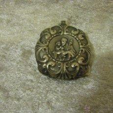 Antigüedades: SONAJERO DE PLATA IMAGEN DE SAN JOSÉ, DEL SIGLO XIX.. Lote 41558561