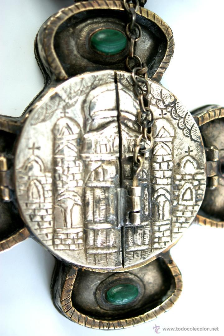 Antigüedades: TRÍPTICO ENGOLPION - PANAGIA - PECTORAL DE PATRIARCA ORTODOXO - S. XVIII - RUSIA IMPERIAL - Foto 12 - 41588598