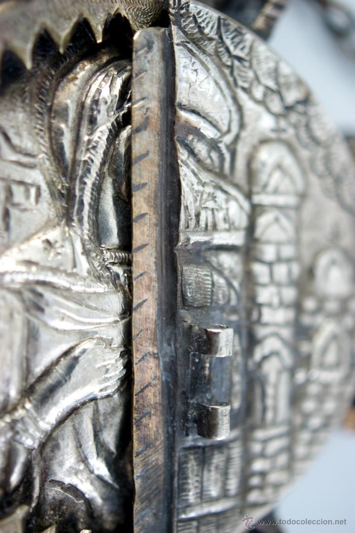 Antigüedades: TRÍPTICO ENGOLPION - PANAGIA - PECTORAL DE PATRIARCA ORTODOXO - S. XVIII - RUSIA IMPERIAL - Foto 15 - 41588598