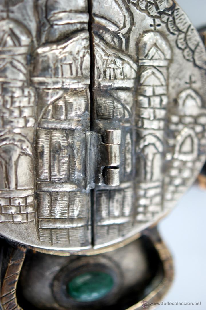 Antigüedades: TRÍPTICO ENGOLPION - PANAGIA - PECTORAL DE PATRIARCA ORTODOXO - S. XVIII - RUSIA IMPERIAL - Foto 16 - 41588598