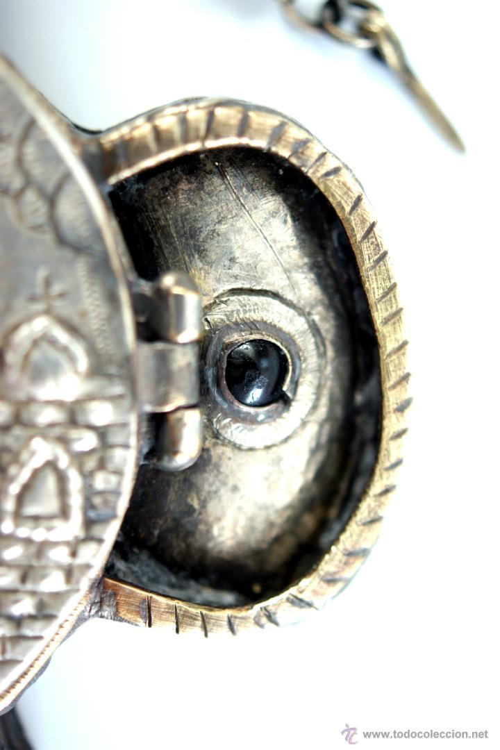 Antigüedades: TRÍPTICO ENGOLPION - PANAGIA - PECTORAL DE PATRIARCA ORTODOXO - S. XVIII - RUSIA IMPERIAL - Foto 24 - 41588598