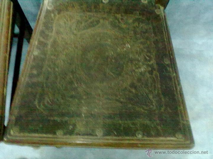 Antigüedades: PAREJA DE SILLAS MODERNISTAS CON MARQUETERIA PARA RESTAURAR - Foto 5 - 41603170