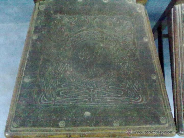 Antigüedades: PAREJA DE SILLAS MODERNISTAS CON MARQUETERIA PARA RESTAURAR - Foto 6 - 41603170