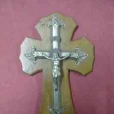 Antigüedades: BENDITERA CRISTO CRUCIFICADO. Lote 41611144