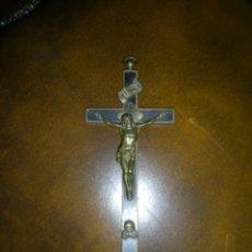 Antigüedades: ANTIGUA CRUZ DE BRONCE. Lote 41614249