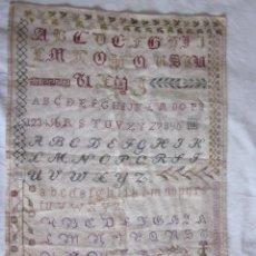 Antigüedades: ABECEDARIO FECHADO EN 1867.. Lote 41632165