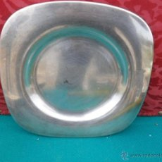 Antiquitäten - plato de alpaca - 41638652