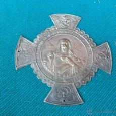 Antigüedades: RESPLADOR CON CORAZON DE JESUS. Lote 41638942