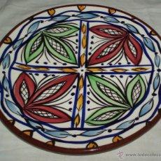 Antigüedades: PLATO DE CERAMICA LA BISBAL. Lote 41657533