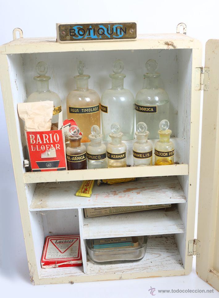 Antiguo botiquin militar muy buen estado con comprar armarios antiguos en todocoleccion - Botiquin antiguo ...