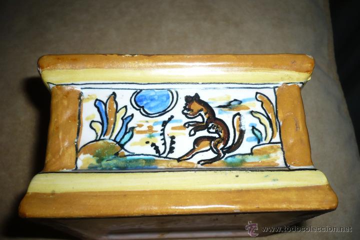 Antigüedades: Tintero ceramica Puente del arzobispo - Foto 4 - 41713211