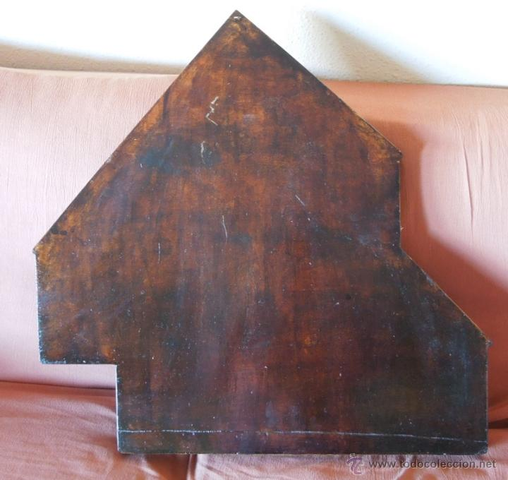 Antigüedades: Repisa o estantería, vitrina en madera reciclada - Foto 2 - 41716758