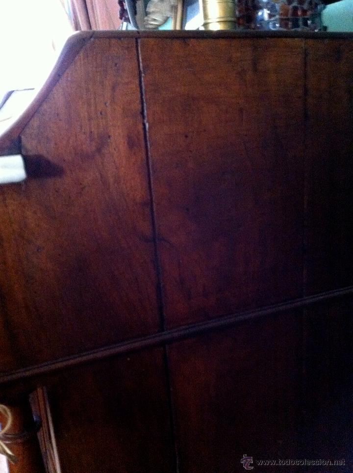 Antigüedades: Mueble tocador de madera noble con mármol circa 1850 - Foto 13 - 35730103