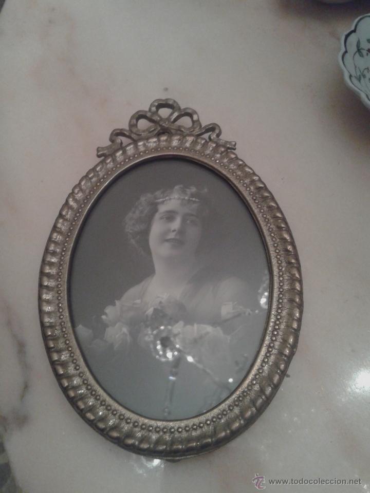 Antigüedades: PAREJA MARCOS CON FOTOS POSTAL. 1920 - Foto 3 - 41744230