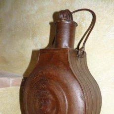 Antigüedades: UTENSILIO, RECIPIENTE EN LATÓN MUY ANTIGUO. Lote 41748933