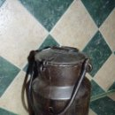 Antigüedades: LECHERA DE HIERRO MUY ANTIGUA. Lote 41751168