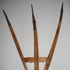 Antigüedades: FORCAS DE MADERA MUY ANTIGUAS. Lote 41756407