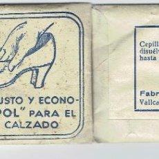 Antigüedades: SOBRE POLVOS-BLANC/POL-PARA EL BLANQUEO DEL CALZADO-LERIDA.. Lote 41757606