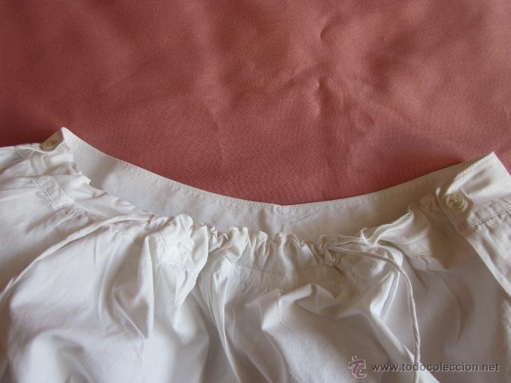 Antigüedades: Pololo o calzón con puntilla suiza - Foto 2 - 41776075