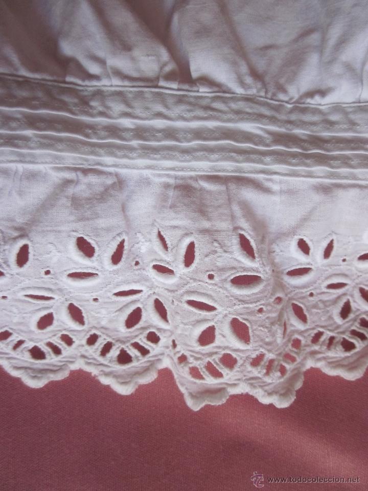 Antigüedades: Pololo o calzón con puntilla suiza - Foto 3 - 41776075