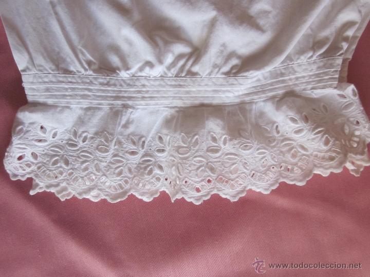 Antigüedades: Pololo o calzón con puntilla suiza - Foto 4 - 41776075