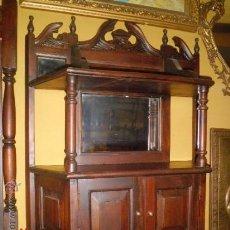 Oggetti Antichi: ARMARITO AUXILIAR DE MADERA TALLADA . Lote 46315206