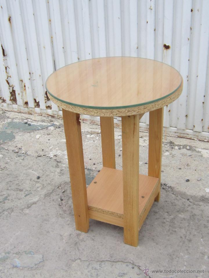 mesa camilla peque a en madera de pino comprar mesas
