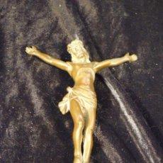 Antigüedades: CRUCIFIJO DE BRONCE. Lote 41794224