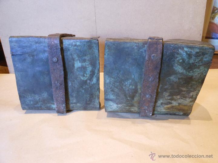Antigüedades: Pareja de estribos - Foto 2 - 41795502