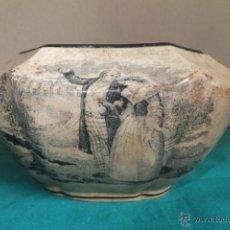 Antigüedades: AZUCARERO CARTAGENA LA AMISTAD ESCENA GALANTE.S.XIX. Lote 51404427