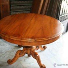 Antigüedades: GRAN MESA DE NOGAL MAZIZO REF. 5610. Lote 41809330