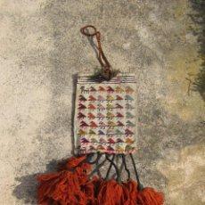 Antigüedades: BOLSO TIPO KILIM, TAPIZADO A MANO, PAIS AZERBAIJAN. Lote 41872705