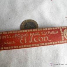 Antigüedades: TINTA EN POLVO. Lote 41893102