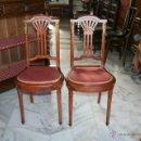 Antigüedades: PAREJA DE SILLAS DE HABITACIÓN AÑOS 20 REF.5632. Lote 41937013