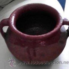 Antigüedades: ANTIGUO PUCHERITO DE BARRO ZAMORANO. Lote 41941959