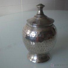 Antigüedades: AZUCARERO ALPACA. Lote 34676207