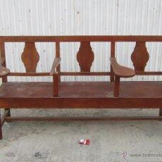 Antigüedades: BANCO DE ESCUELA. Lote 42008437