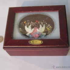 Antigüedades: CAJA JOYERO DE MADERA. Lote 42032459