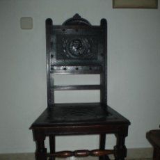 Antigüedades: SILLA DE HAYA S XIX. Lote 42033395