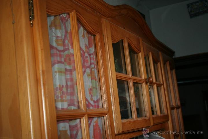 Antigüedades: aparador o mueble de madera de pino - Foto 2 - 36384810