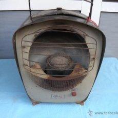 Antigüedades: ESTUFA PORTATIL DE PETROLEO RADICALOR HISPANIA, ANTONIO COLL. Lote 42051170