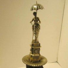 Antigüedades: FIGURA DE DAMA DEL PARAGUAS. Lote 42056322
